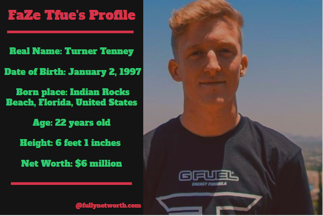FaZe Tfue Net Worth