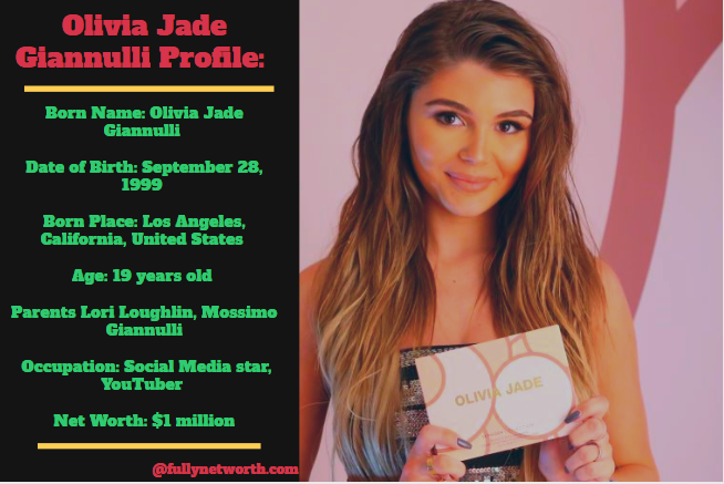 Olivia Jade Giannulli Net Worth