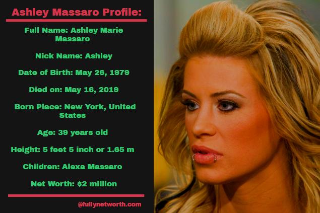 Ashley Massaro Net Worth