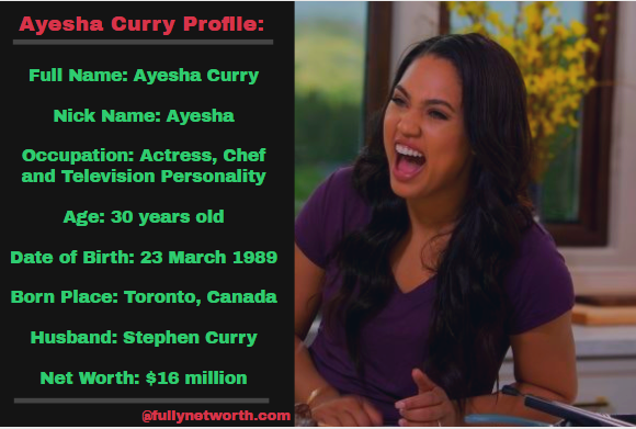 Ayesha Curry Net Worth