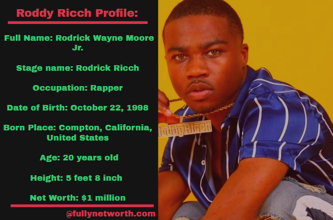 Roddy Ricch Net Worth