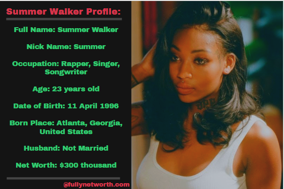 Summer Walker Net Worth